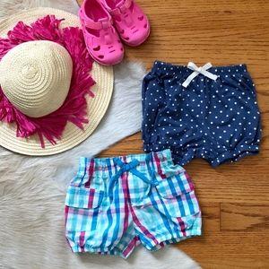 Gap and Polo Assn. 12-18M Toddler Shorts (Girls)